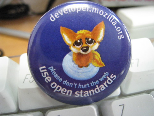 Please don't hurt the Web, use Open Standards