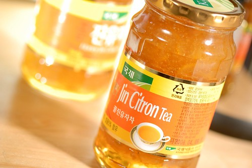 Honey Jin Citron Tea (made in korea?)
