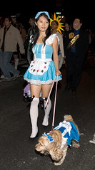 Alice in Wonderland and Alice pooch by bnittoli