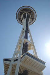 Space needle: Seattle. June 2007. (rae.joanna) Tags: seattle space needle
