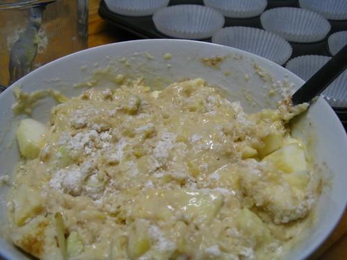 Muffin mixture