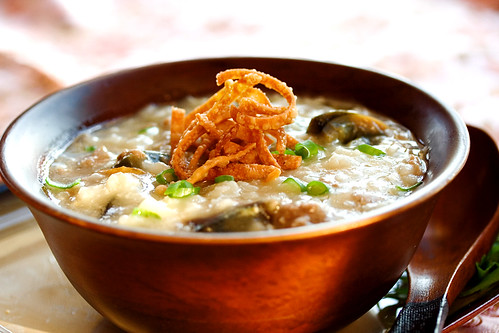Beef Congee (Rice Porridge) + PBS Show - Steamy Kitchen Recipes