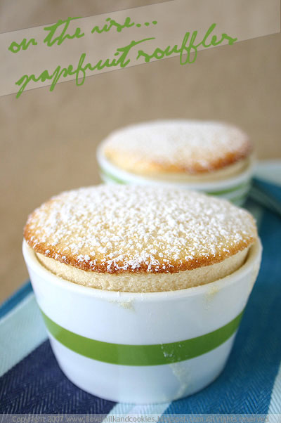 Grapefruit Souffles