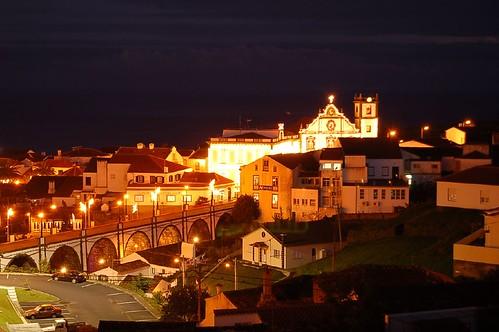 Vila de Nordeste noite
