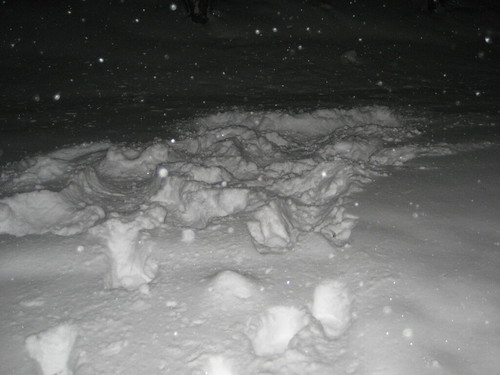 Snow angels... questionably
