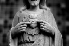 Sagrado Corazon de Jesus (Marco From Houston) Tags: bw art blackwhite catholic religion houston marco houseofworship marcofromhouston assignmenthouston21