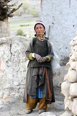 Just a woman, Ladakh, India (E. B. Sylvester) Tags: portrait woman india mounta