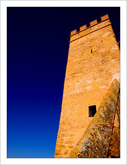 La torre (glezserna) Tags: andaluca torre carmona murallas