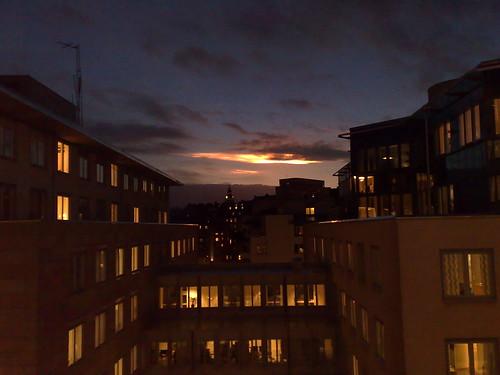 UFO over Stockholm?