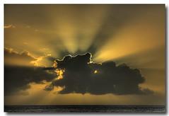 Sunset blast! (PedroMadruga) Tags: ocean sunset sea wild cloud pico d200 hdr sunray azores aores abigfave pedromadruga