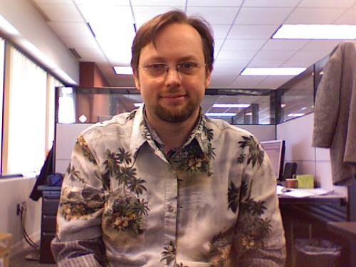 Me in a Hawaiian Shirt
