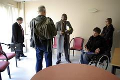 Un centre d'examen de santé à Nogaro