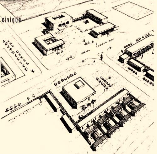 Plan du projet d'urbanisation Zouérate