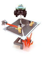 El artista del Lego