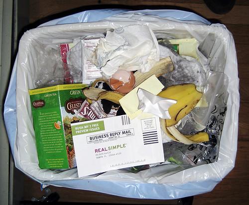 Trash Portrait #1, Feb. 11th