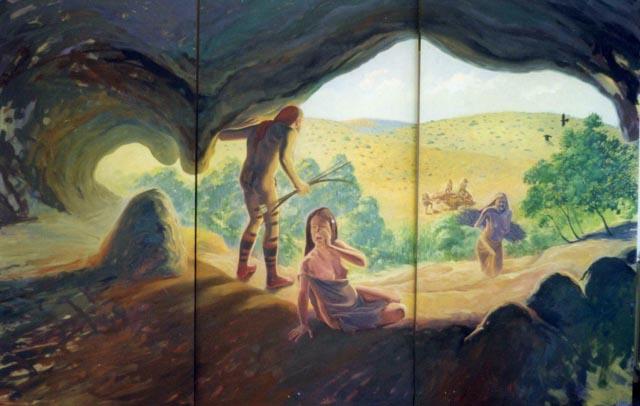 Entrada a la cova