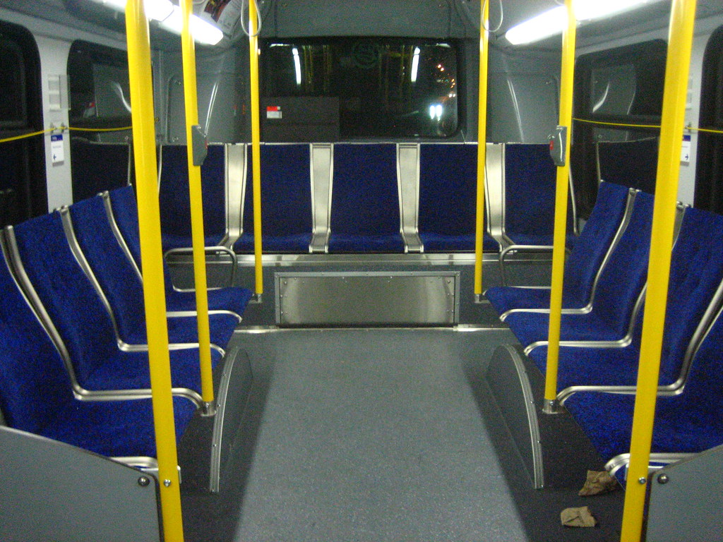 8104 Interior - rear section