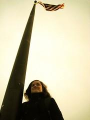 America (Leya :P) Tags: portrait sky usa home america flag pride pole american usaflag goldstaraward
