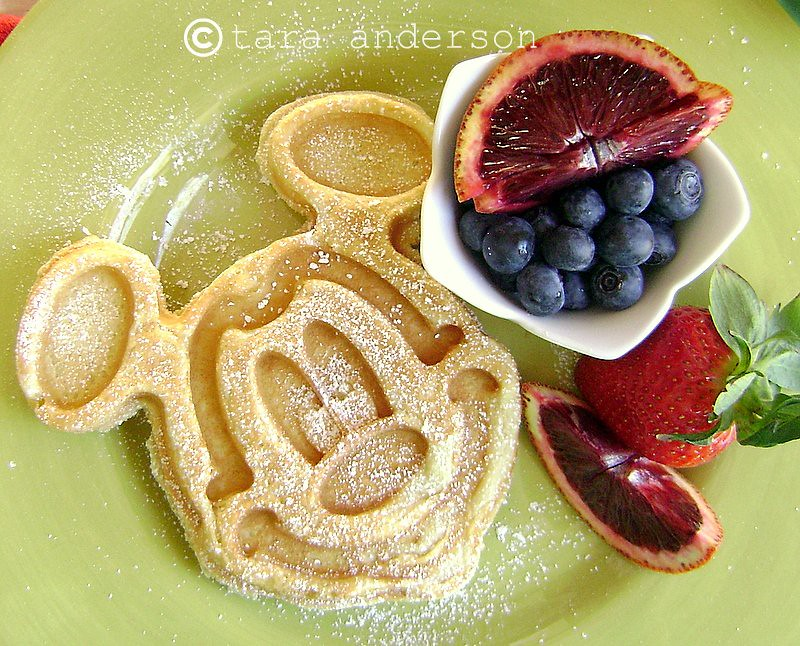 Mickey Mouse Waffle Recipe