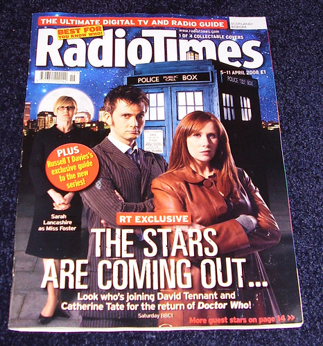 RADIO TIMES - Dr Who Cover 1