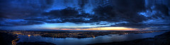 Dalsnuten panorama - after sunset (Per Erik Sviland) Tags: longexposure panorama norway stavanger norge interestingness interesting nikon nightshot explore erik per hdr sandnes dalsnuten d300 pererik interestingnes 20pix explored sviland sqbbe pereriksviland