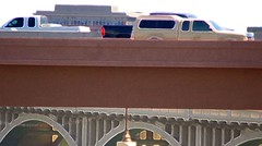 Coming and Going (Kat Davis ©) Tags: bridge arizona cars traffic trucks tempe comingandgoing millavenuebridge kathydavis excellentphotographersaward flickrgolfclub 7daysofshooting twentyfirstcenturytuesday week39cars katdavis© katdavisphotography