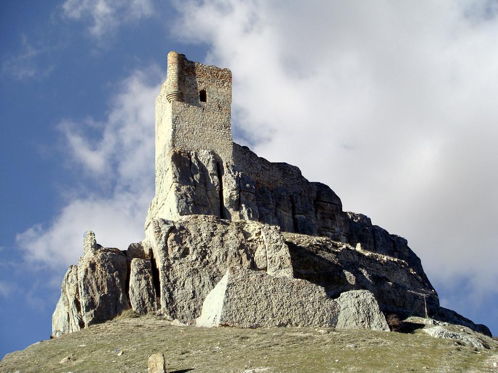 Photo de Castille La Manche n°8. Le château d'Atienza