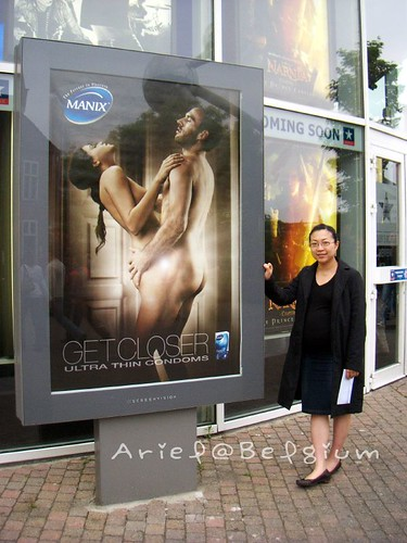 Brussels Kinepolis Theather - Condom Advertisement