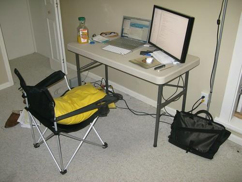 Seriously Lame Desk Setup
