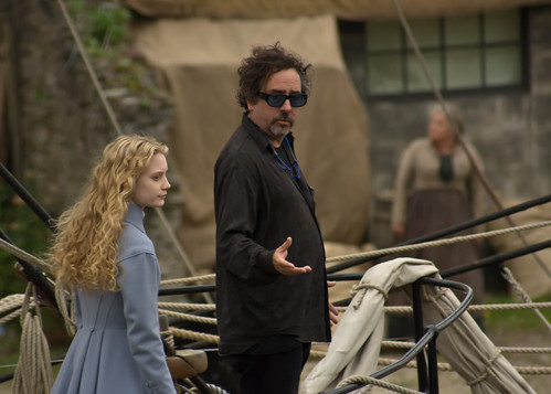 Alicia y Tim Burton