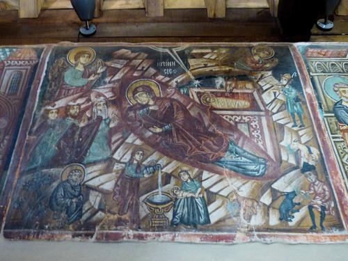 Pedoulas - Church of Archangelos Michail, interior, nativity