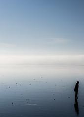 alone on the ice (Mange J) Tags: 50mmf17 k3ii magnusjakobsson pentax sverige sweden värmland alone blue clear cold freezing frost ice iceskating lonely man pentaxart sky winter värmlandslän se