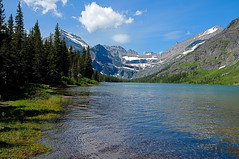 EARTH (Phil's Pixels) Tags: mountains nature montana earth lakes glaciernationalpark celebrate hikes earthday potofgold lakejosephine manyglacier hoiiday thegardenwall grinnelglacier gemglacier
