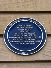 Photo of Charles Arthur Mander blue plaque