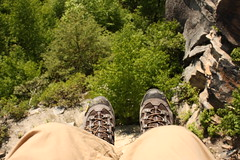 Boots at Raven Rock Overlook