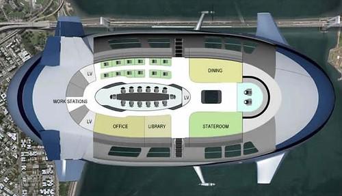 blimp plane executive floor plan