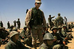 Major Noriega Training Soldiers (Rick Noriega) Tags: afghanistan training major rick soldiers noriega