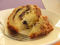Lemon-Blueberry Sour Cream Coffee Cake