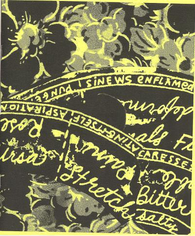 Cover scan of Jo Cook's zine