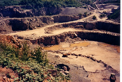 Bardon Hill Quarry, Leicestershire Volcano (The Green Odyssey) Tags: england volcano countryside leicestershire britain vulcan geology quarry beaconhill countrywalk geological extinctvolcano whitwick bardonhillquarry