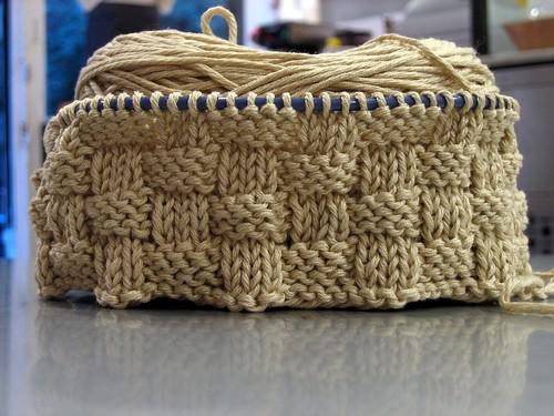 Basket weave place mats