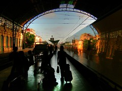 Valencia, always Valencia (rabataller) Tags: shadow people valencia station reflections tren colours trainstation silueta soe tranva estacindetren blueribbonwinner 35faves mywinners artlibre shieldofexcellence anawesomeshot megashot rabataller excellentphotographerawards theperfectphotographer