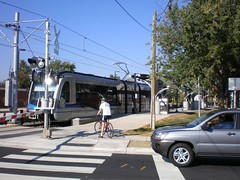 The Lynx Blue Line in Charlotte. Photo: Dave Reid