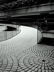 embarcadero center (telmo32) Tags: sf sanfrancisco california city urban blackandwhite bw monochrome architecture contemporary explore creativecommons sanfransisco embarcaderocenter blueribbonwinner mywinners abigfave diamondclassphotographer telmo32