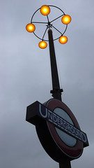 Lamp, Southgate Station .P1020028 (mansionmedia simon knight) Tags: bus london lamp station train tube guesswherelondon gwl undergroun simonknight mansionmedia simonaknight