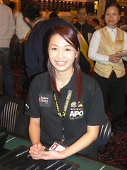 APPT Macau 2007: Angie Tang Final Table Dealer 2500 event