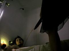 Assignment 9 (xJenniferx) Tags: bathroom death blood candle knife bathtub stab candlelit girlandguy de