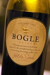 2005 Bogle California Petite Sirah