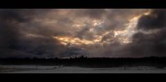 Sunset on New Year's Eve 2007 (d.lindholm) Tags: winter sunset snow clouds photo europe sweden dramatic frame uppsala scandinavia nikon18200mm hågadalen nikond40x