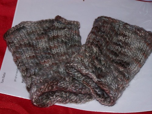 Fetching Fingerless Mitts